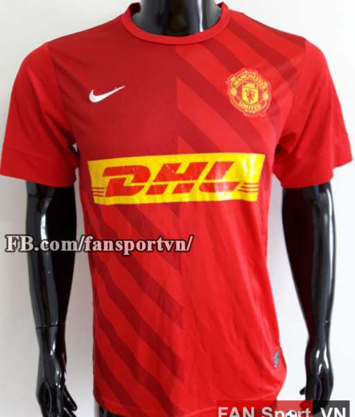 Áo tập Manchester United 2012-2013 training shirt jersey red