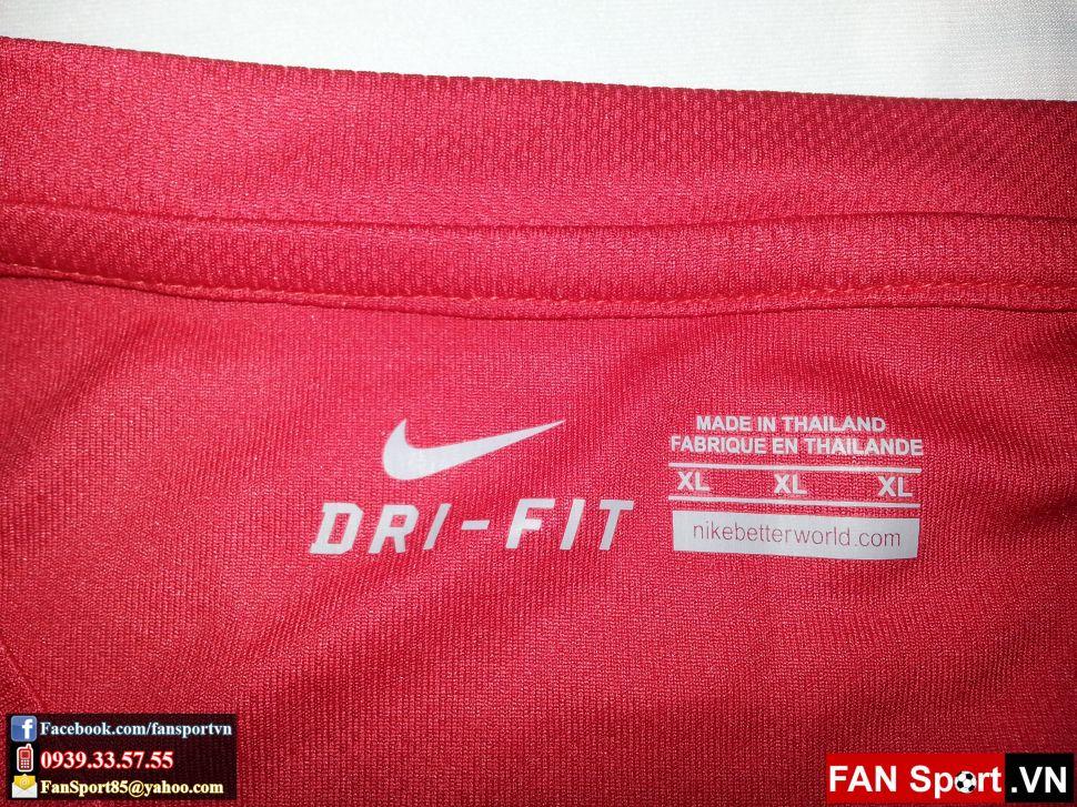 Áo tập Manchester United 2012-2013 training shirt jersey red