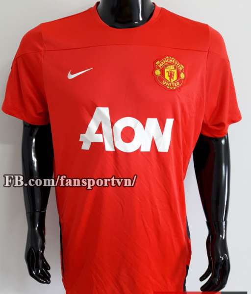 Áo tập Manchester United 2013-2014 training shirt jersey red