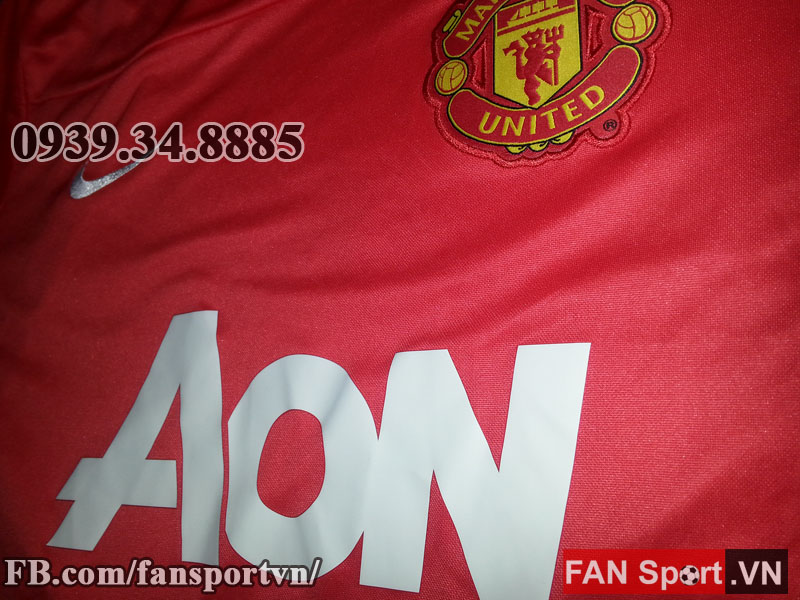 Áo tập Manchester United 2013-2014 training shirt jersey red