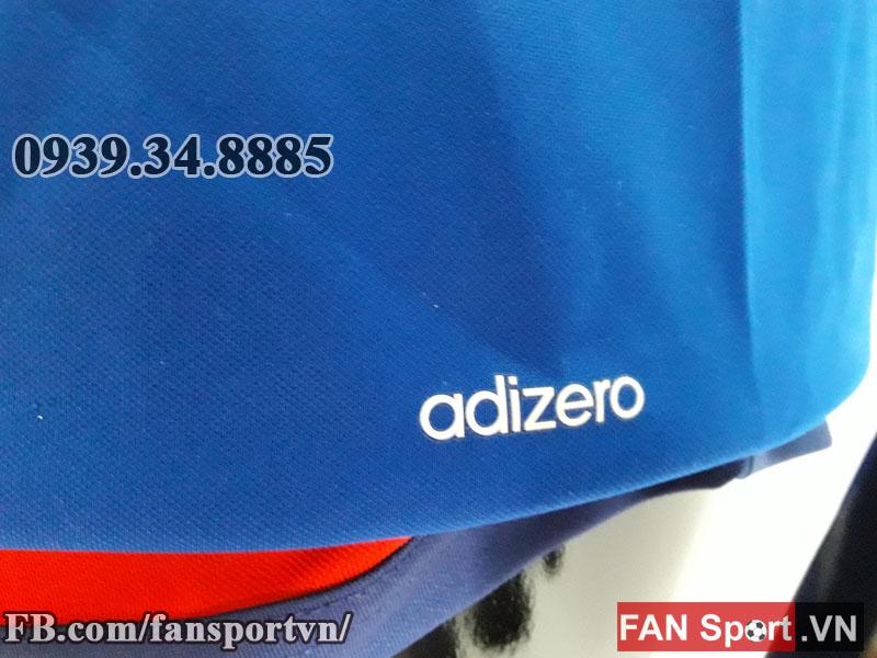 Áo tập Manchester United 2015-2016 training shirt jersey blue