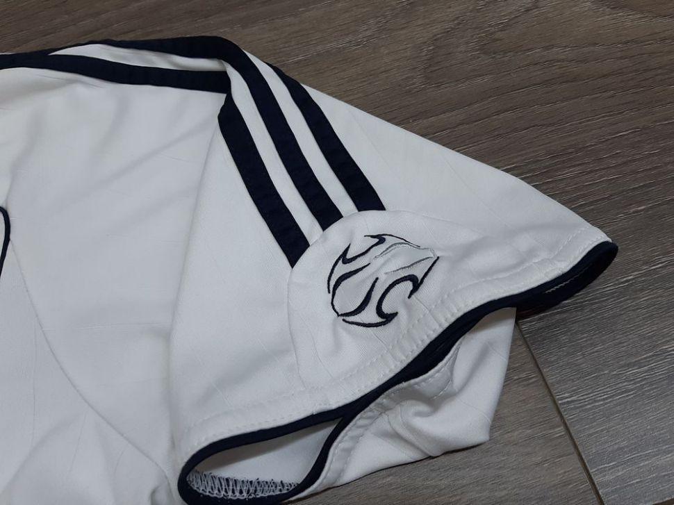 Áo đấu Beckham #23 Real Madrid 2006-2007 home shirt jersey white
