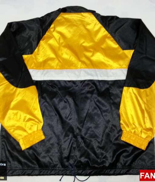 Áo khoác Manchester United vàng đen - jacket shirt jersey yellow black