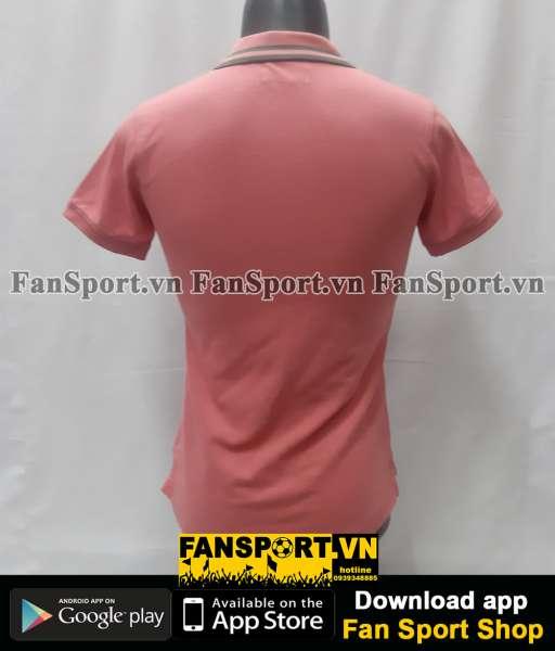 Áo polo Manchester United màu hồng pink size nữ