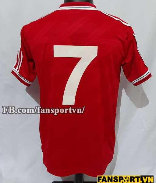 Áo đấu #7 Manchester United 1986-1987-1988 home shirt jersey red