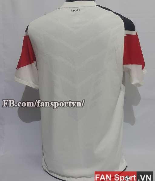 Áo đấu Manchester United 2010-2012 away third shirt jersey white