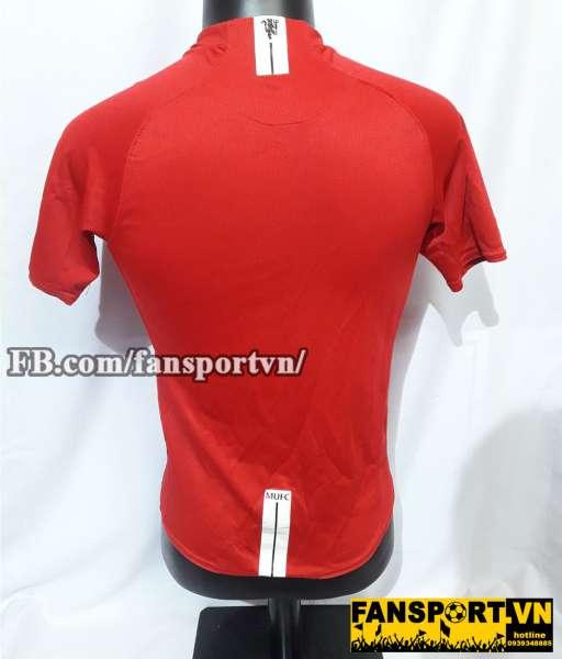 Áo đấu Manchester United 2007-2009 home shirt jersey red