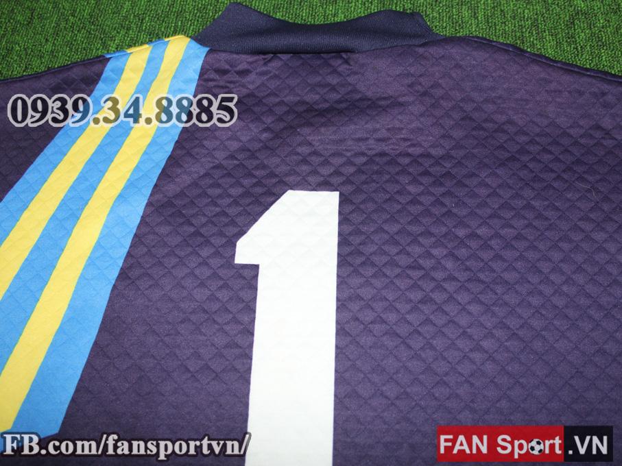 Áo #1 Manchester United 1992-1994 away goalkeeper shirt jersey purple