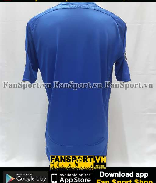 Áo đấu Chelsea FA Cup final 2007 home shirt jersey blue 2006 2008