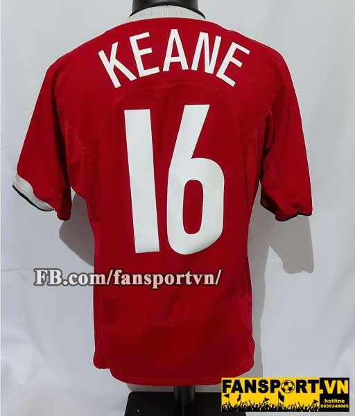 Áo đấu Keane #16 testimonial Manchester United 2006 home shirt jersey