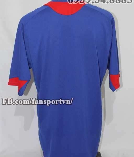 Áo đấu Manchester United 2006-2007 third shirt jersey blue