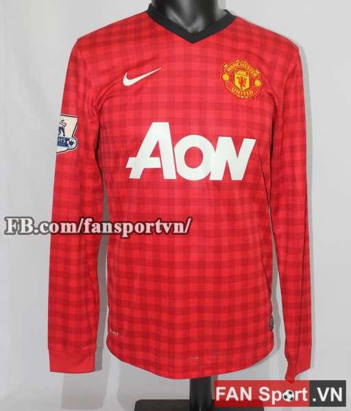 Áo dấu Manchester United 2012-2013 Champions 20 premier league shirt