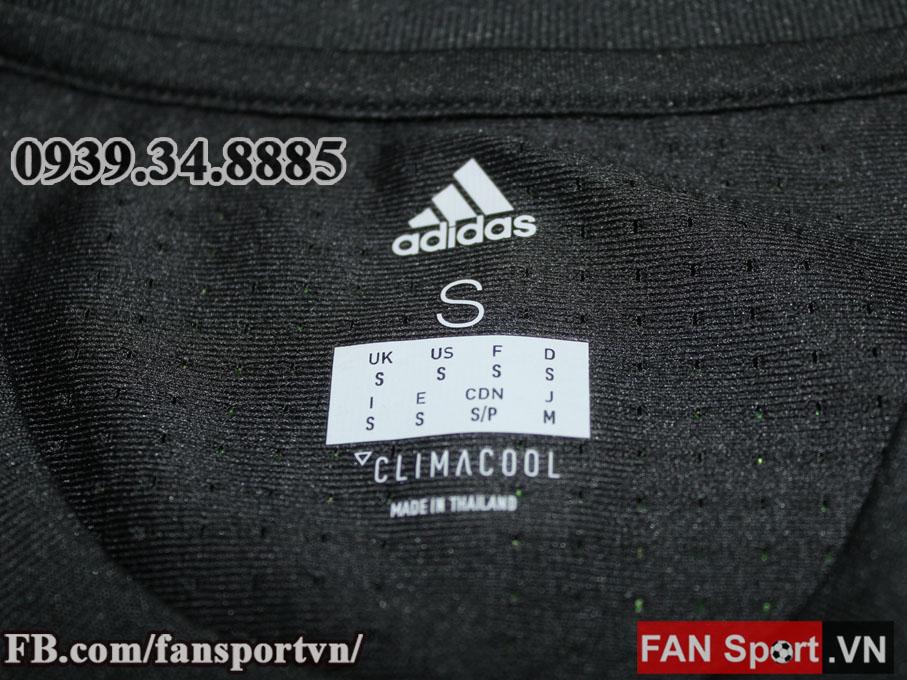 Áo đấu Manchester United 2017-2018 awayshirt jersey black Adizero