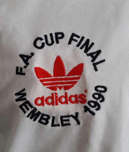 Áo đấu Manchester United FA Cup final 1990 replay away shirt white