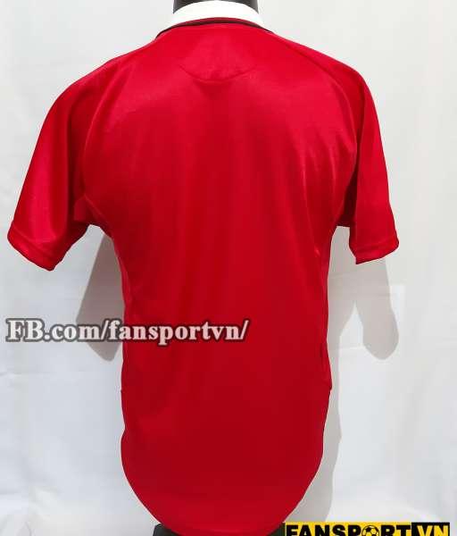 Áo đấu Manchester United UEFA Super Cup 1999 home shirt jersey red