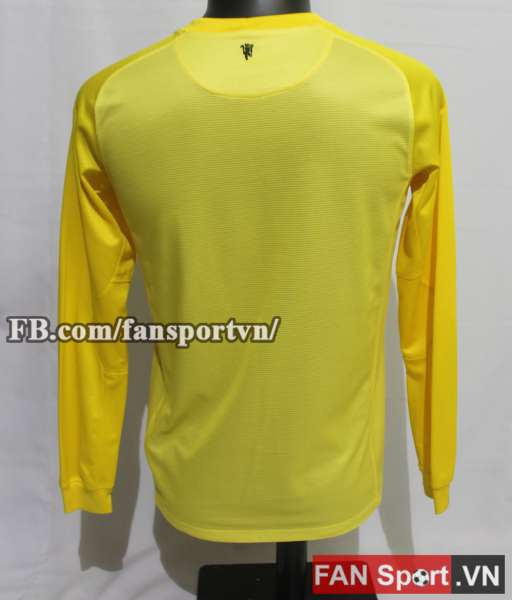 Áo thủ môn Manchester United 2013-2014 away goalkeeper shirt yellow