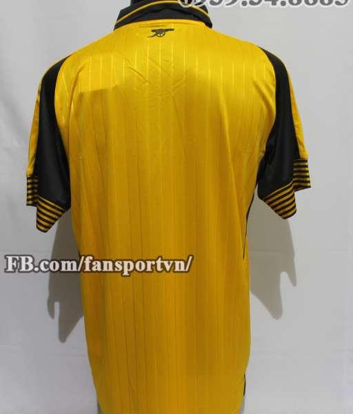 Áo đấu Arsenal 2016-2017 away shirt jersey yellow
