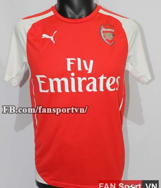 Áo đấu Alexis Sanchez #17 Arsenal 2014-2015 home shirt jersey red