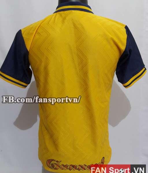 Áo đấu Arsenal 1996-1997 away shirt jersey yellow