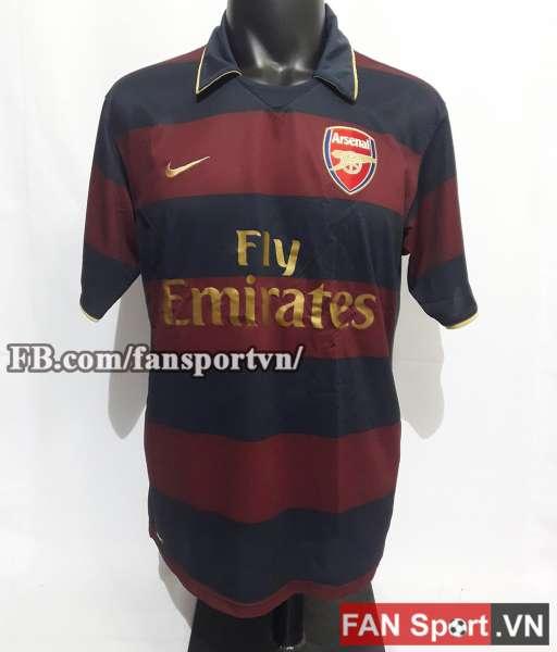 Áo đấu Arsenal 2007-2008 third shirt jersey brown