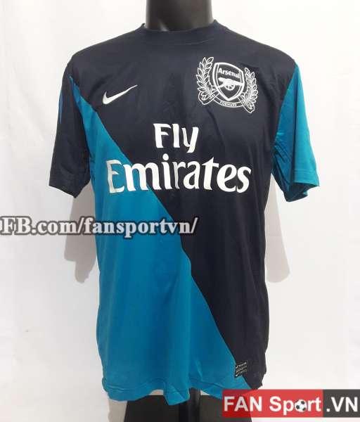 Áo đấu Arsenal 2011-2012 away shirt jersey blue