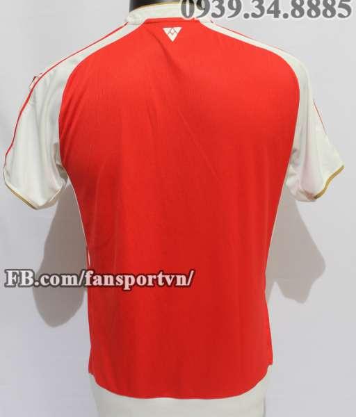 Áo đấu Arsenal 2015-2016 home shirt jersey red
