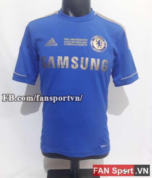 Áo đấu Chelsea Europa League final 2013 home shirt jersey blue