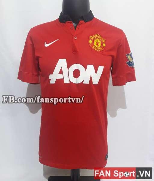 Áo đấu Rooney #10 Manchester United 2013-2014 home shirt jersey red