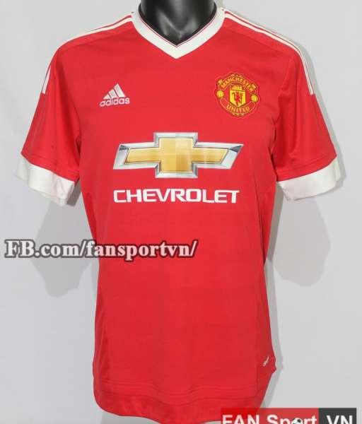 Áo đấu Rooney #10 Manchester United 2015-2016 home shirt jersey red