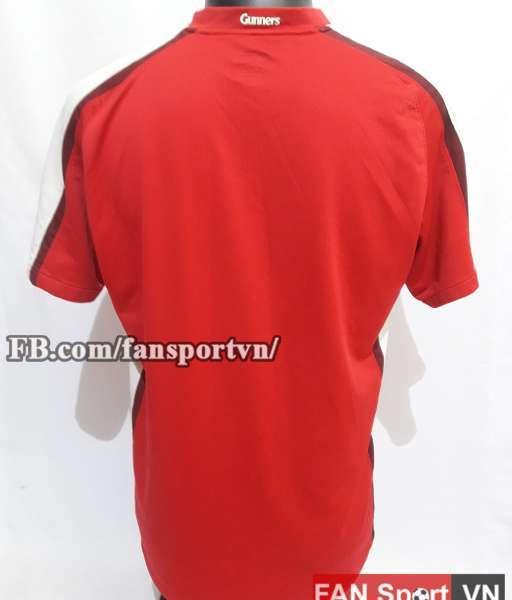 Áo đấu Arsenal 2008-2010 home - shirt jersey red