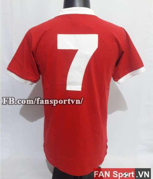 Áo đấu #7 Manchester United 1973 home shirt jersey red 1972 1975