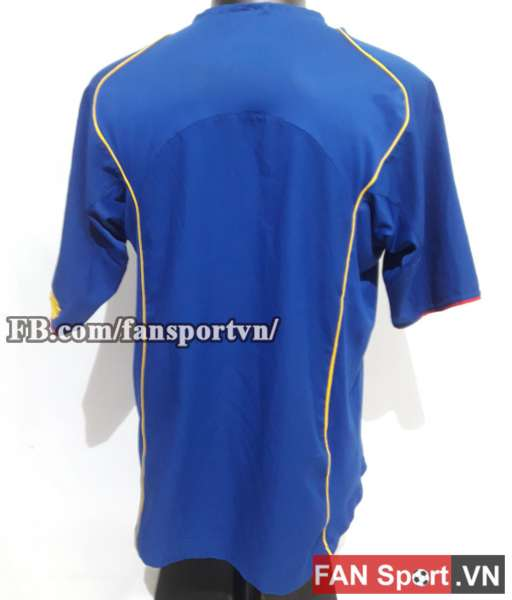 Áo đấu Arsenal 2004-2005 away shirt jersey blue size L