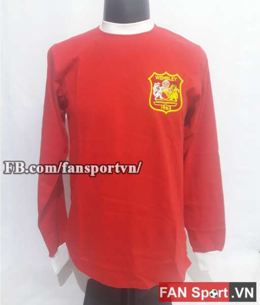 Áo đấu Manchester United Fa Cup final 1963 home shirt jersey red