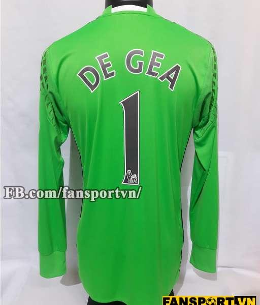 Áo De Gea #1 Manchester United 2016-2017 away goalkeeper shirt green
