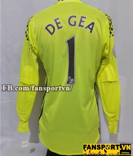 Áo De Gea #1 Manchester United 2016-2017 third goalkeeper shirt yellow