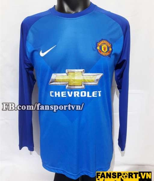 Áo thủ môn Manchester United 2014-2015 away goalkeeper blue