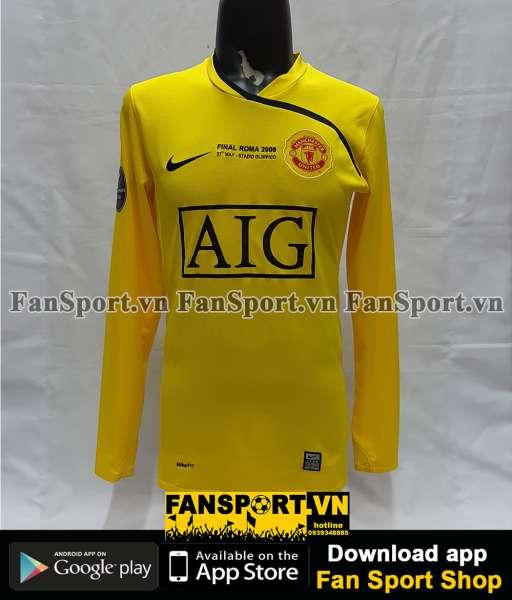 Áo Van Der Sar #1 GKManchester United Champion League Final 2009 shirt