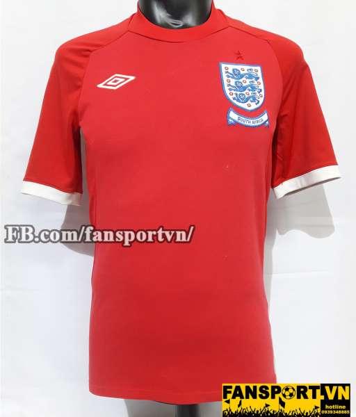 Áo đấu England 2010-2012 away shirt jersey