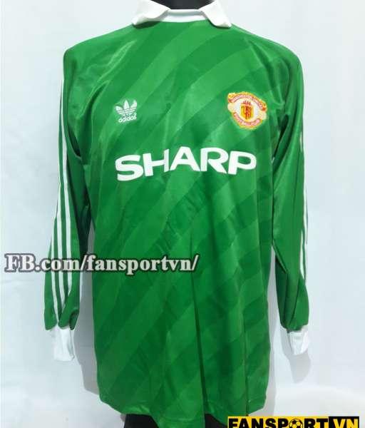 Áo thủ môn Manchester United 1988-1989 home shirt jersey