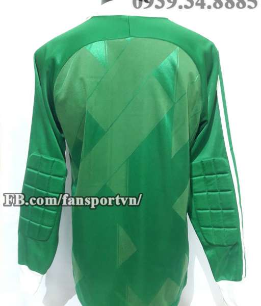 Áo thủ môn Manchester United 1986-1989 home goalkeeper green shirt