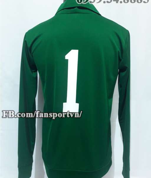 Áo thủ môn Manchester United 1982-1983 home goalkeeper green shirt