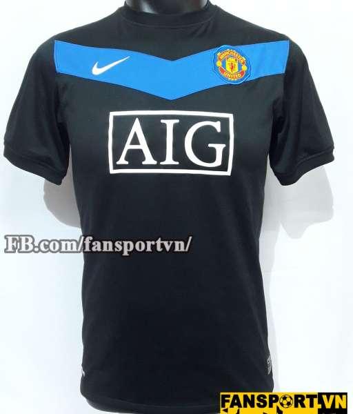 Áo đấu Manchester United 2009-2010 home shirt jersey black