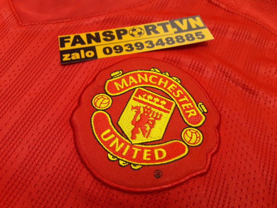 Áo Ronaldo #7 Manchester United 2007-2008-2009 home shirt jersey red