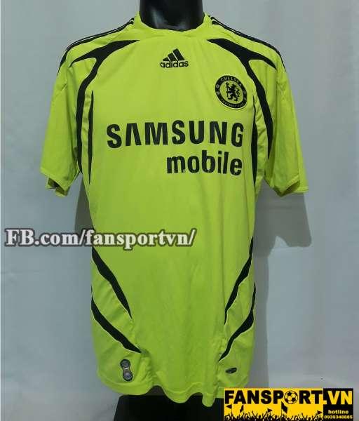 Áo đấu Chelsea 2007-2008 away shirt jersey yellow