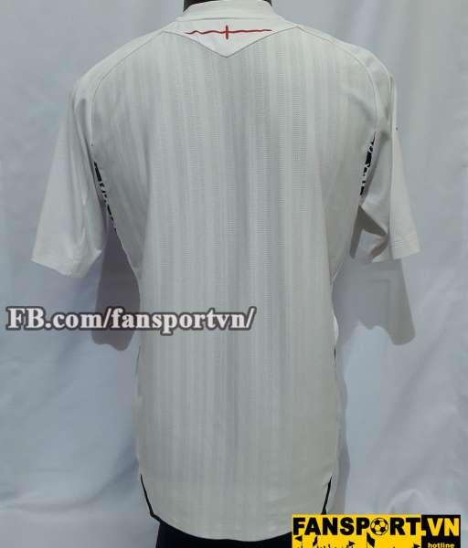 Áo đấu England 2007-2009 home shirt jersey white