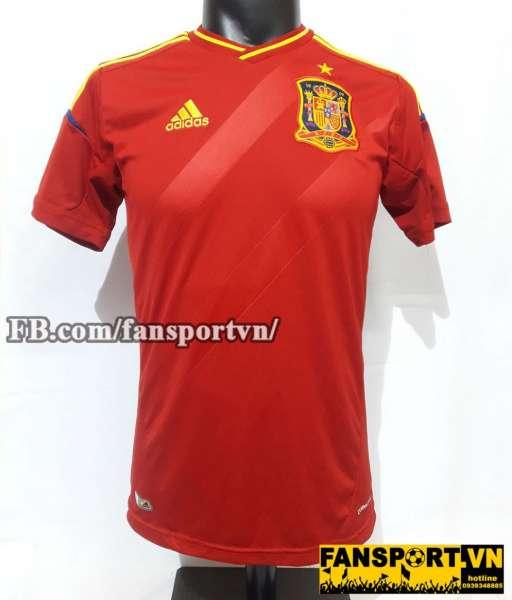 Áo đấu Spain 2012-2013 home shirt jersey red