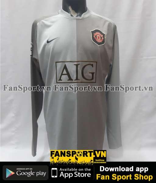 Áo thủ môn Manchester United 2006-2007 third goalkeeper grey