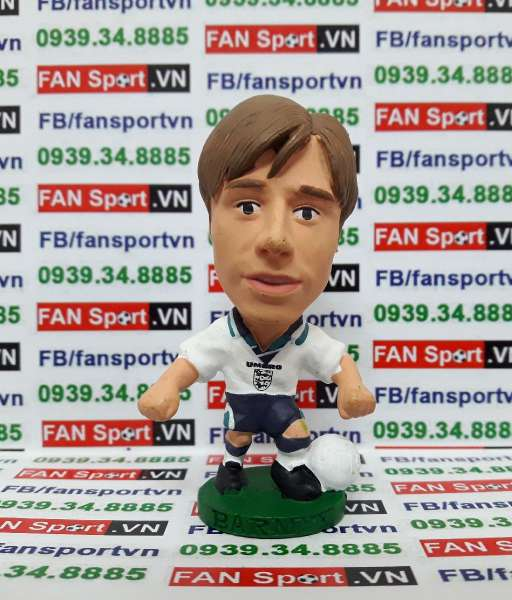 Tượng Nick Barmby England 1995-1997 home - corinthian E13
