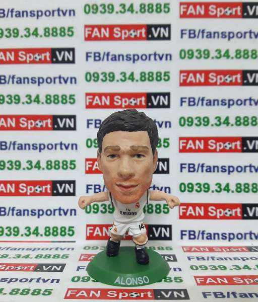 Tượng Xabi Alonso Real Madrid 2013-2014 home - soccerstarz SOC124