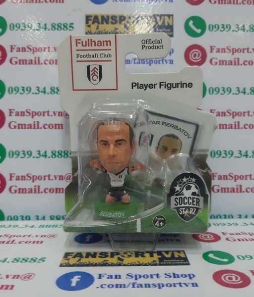 Tượng Dimitar Berbatov #9 Fulham 2013-2014 home soccerstarz figure
